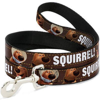 Buckle-Down Dug 3 poses Squirrel Leash