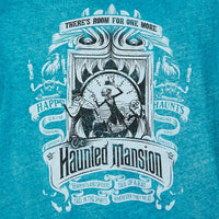 Haunted Mansion Dip Dyed Blue Tee Shirt