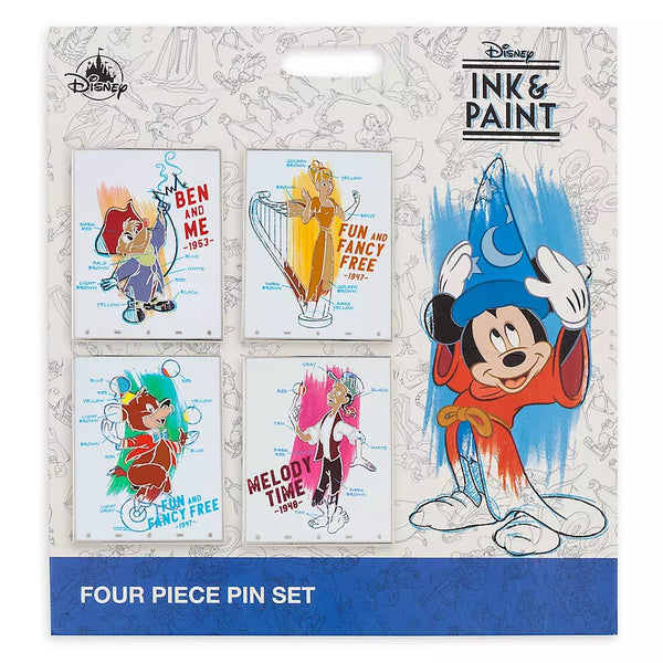Disney Ink and Paint Pin Set