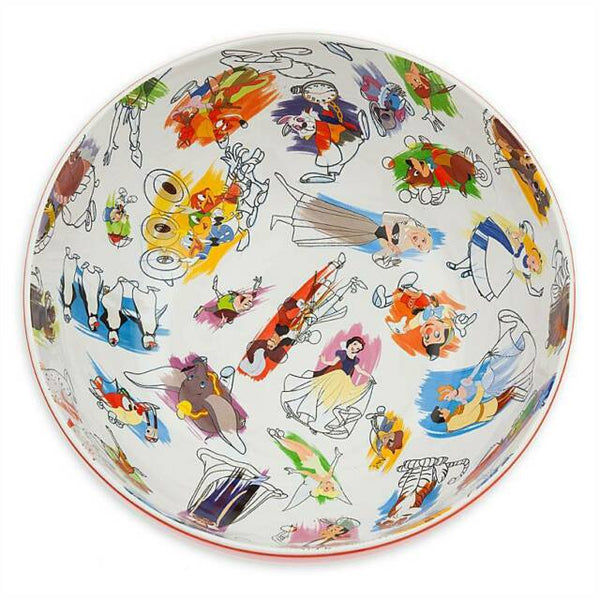 Ink and Paint Large Serving Bowl