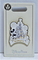 Walt Disney World Cinderella's Castle With 2019 Mickey Sketch Pin