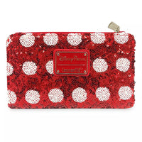 Minnie Mouse Bow Sequin Wallet