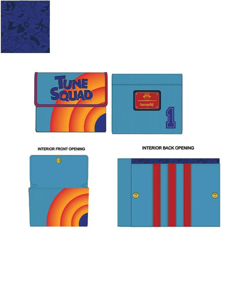 PRE-ORDER JUNE LF SPACE JAM SQUAD BUGS WALLET