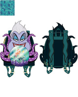 PRE-ORDER JUNE LF VILLAINS SCENE URSULA CRYSTAL BALL MINI BACKPACK
