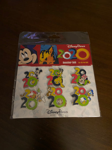 Disney 2020 Pin Booster Set