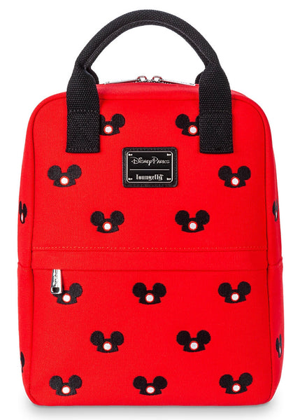 Loungefly Disney Mickey Mouse Ear Hat Canvas Mini Backpack