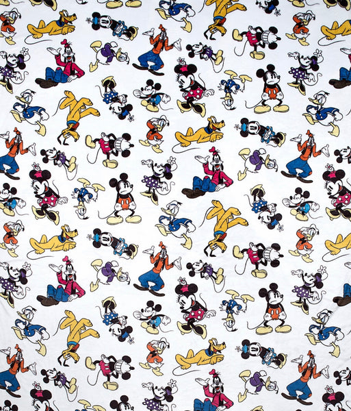 Mickey and Friends Plush Blanket