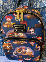 Pirates of the Carribean Loungefly Mini Backpack  Free Domestic Shipping!!