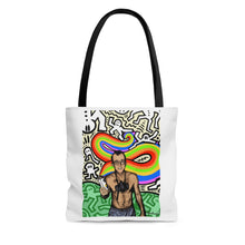 Load image into Gallery viewer, Aquaboogie - Haring Tote