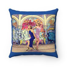 Load image into Gallery viewer, DeVineFocus - Graffiti & Glitz Pillow