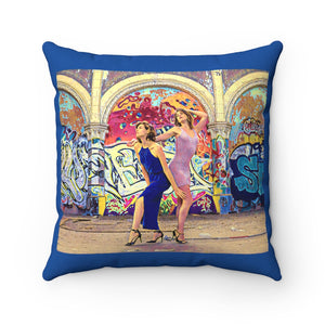 DeVineFocus - Graffiti & Glitz Pillow