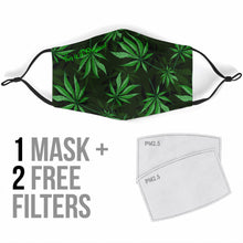 Load image into Gallery viewer, Cannabis Face Mask