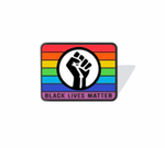 Load image into Gallery viewer, Black Lives Matter Enamel Lapel Support Pin