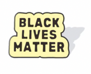 Black Lives Matter Enamel Lapel Support Pin