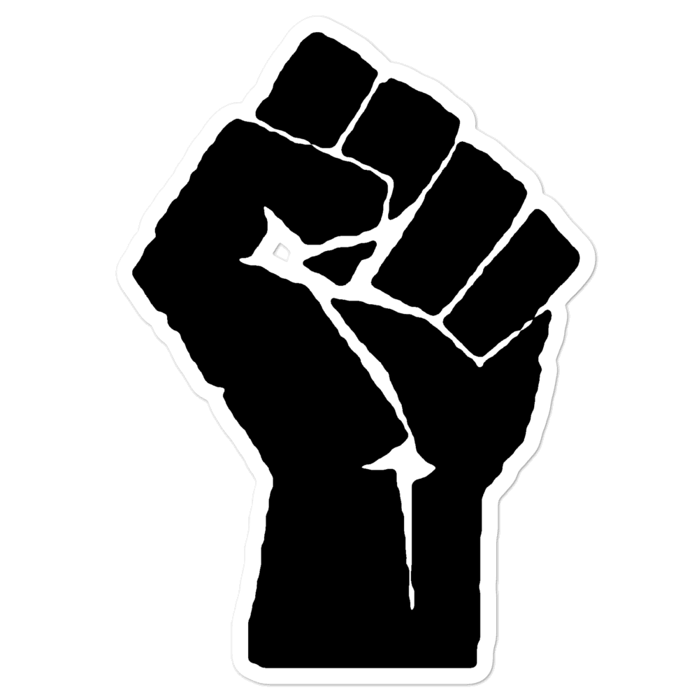 Black Lives Matter Fist Sticker