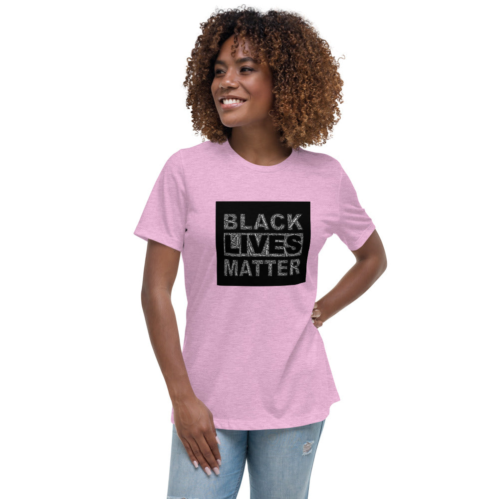 Say Their Names BLM Women's Relaxed T-Shirt
