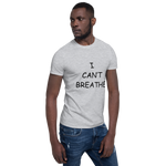 Load image into Gallery viewer, I Can't Breathe BLM White Men's T-Shirt