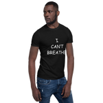 Load image into Gallery viewer, I Can't Breathe BLM Black Men's T-Shirt