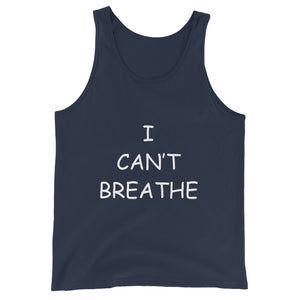 I Can't Breathe BLM Black Tank Top