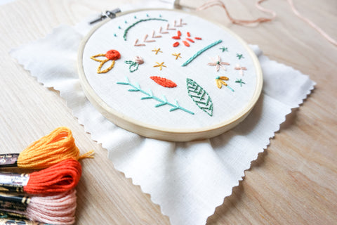 VIRTUAL WORKSHOP 2/6: Intermediate Embroidery