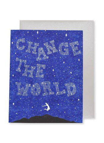 Change the World Card