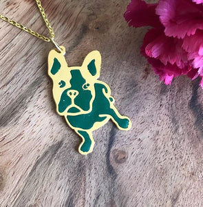 Frenchie Necklace