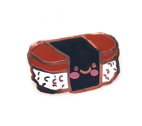 Spam Musubi Enamel Pin