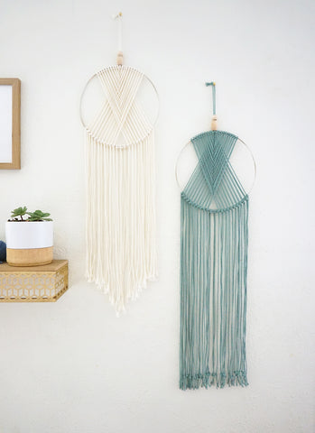 VIRTUAL WORKSHOP: 1/23 Geometric Macrame Wall Hanging