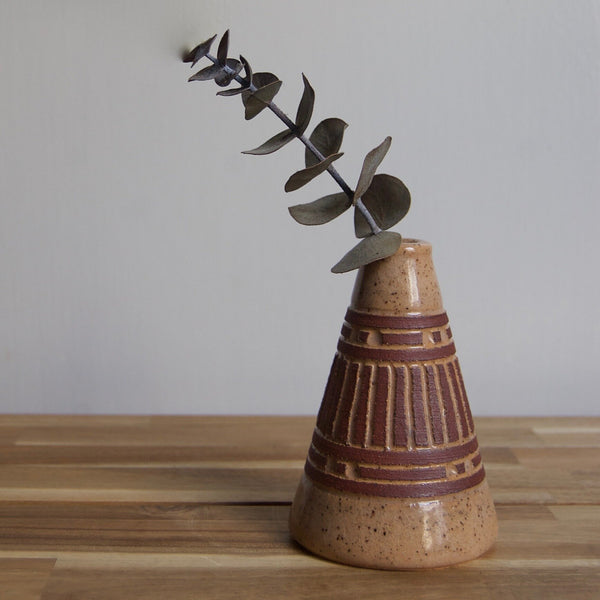 Dusty Earth Bud Vase