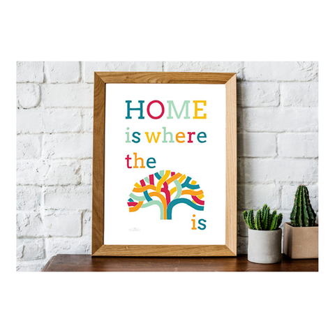 Home is Where the Oak Tree Is Print