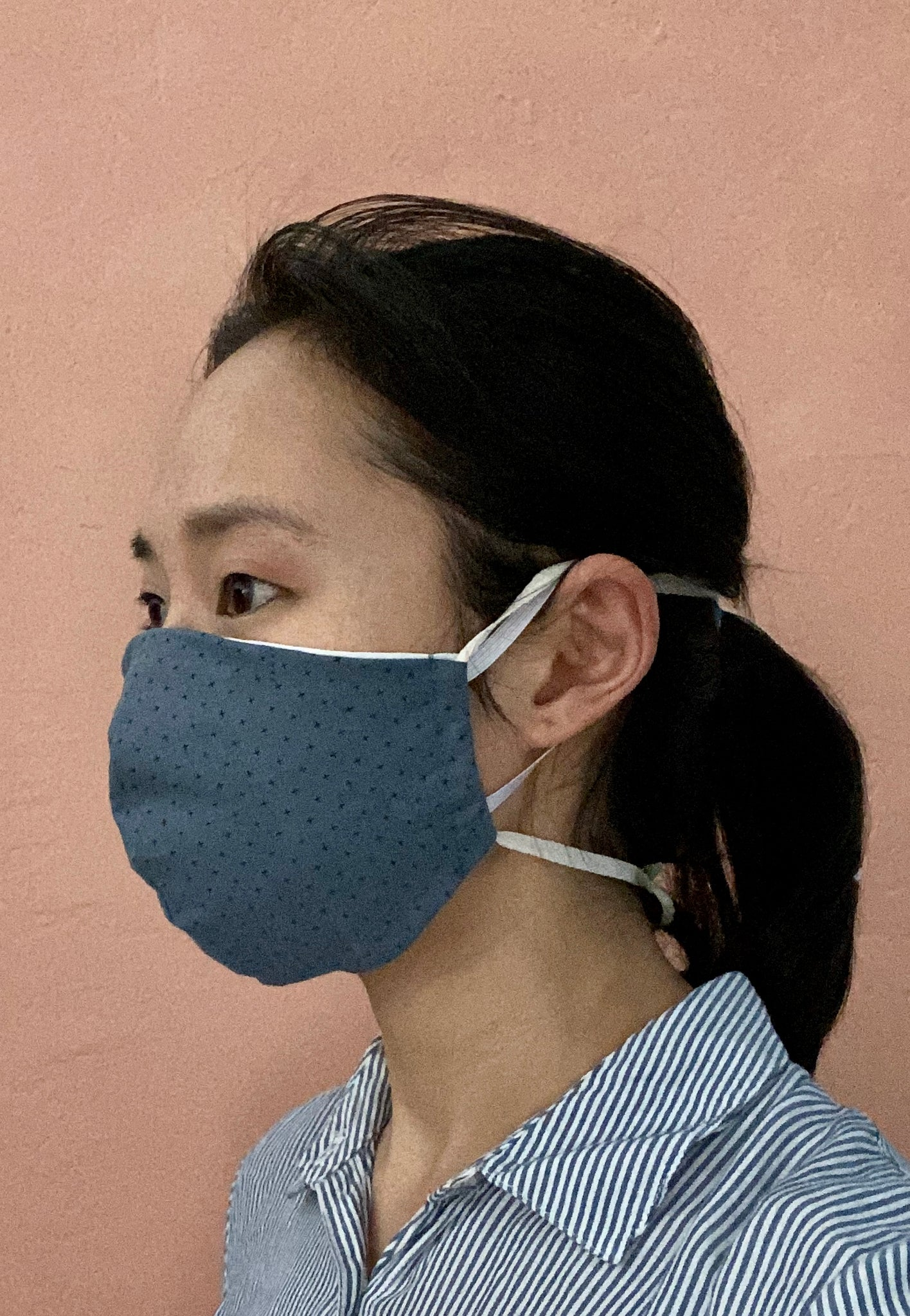 Slate Cotton Non-Surgical Face Mask