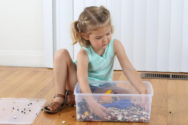 Construction Sensory Bin Play Kit
