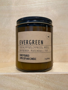 Evergreen Soy Candle (Limited Edition Seasonal Collection)