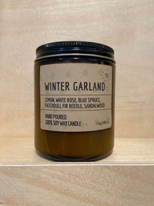 Winter Garland Soy Candle (Limited Edition Seasonal Collection)