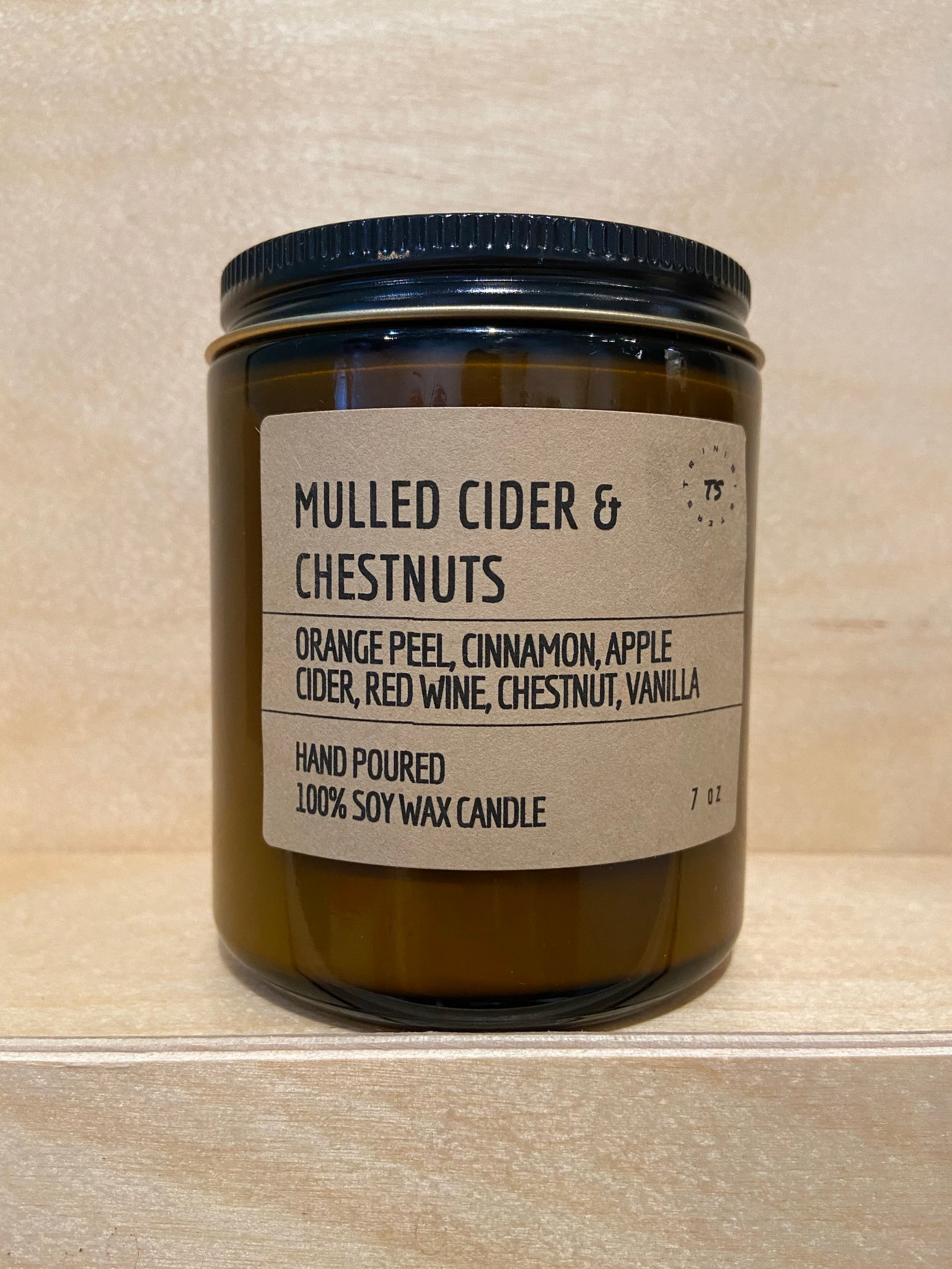Mulled Cider & Chestnuts Soy Candle (Limited Edition Seasonal Collection)
