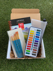 Watercolor Gift Set