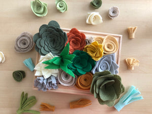 Felt Succulent Garden Workshop Kit
