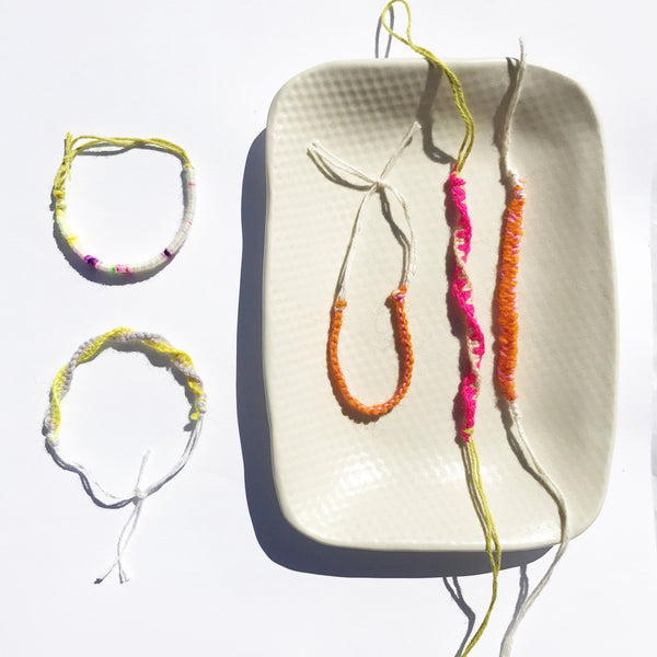 Friendship Bracelet Kit - Bright