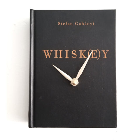 Book Clock: Whiskey