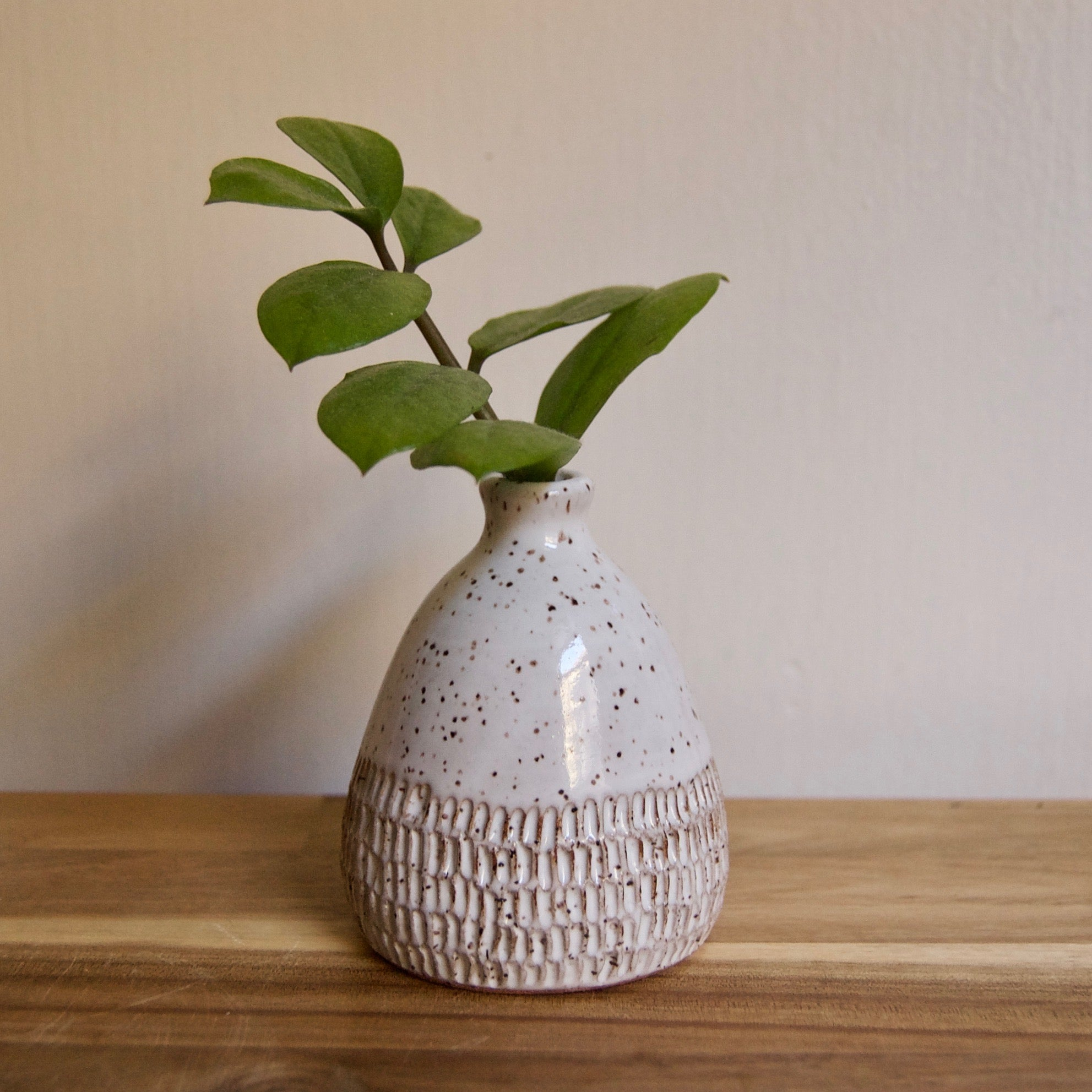 Salt and Pepper Mini Bud Vase