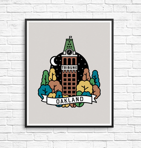 Oakland Tribune Tower Print