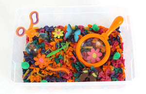 Butterflies and Bugs Sensory Bin Play Kit for Kids