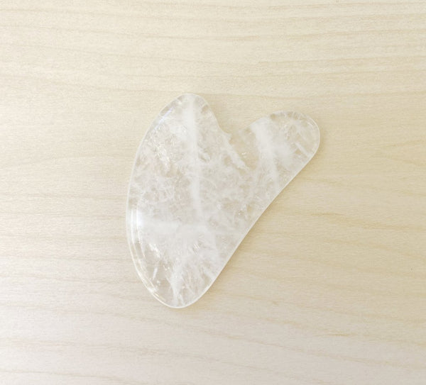 Clear Quartz Gua Sha