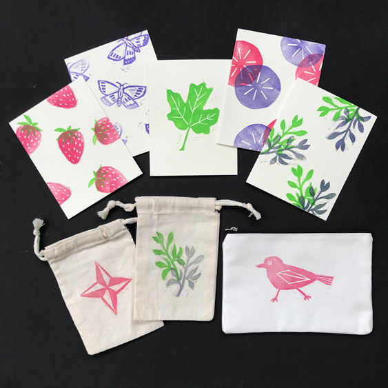 VIRTUAL WORKSHOP 3/27: Block Printing on Fabric and Paper