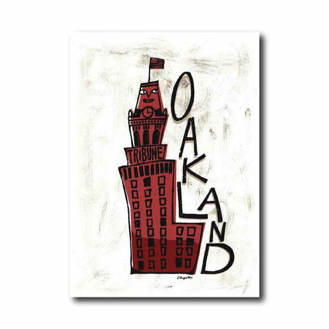 Oakland Tribune Art Print
