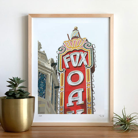 Fox Theater I Print