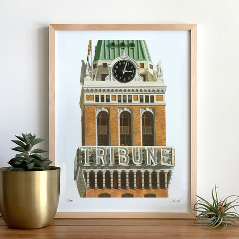 Tribune Tower Print