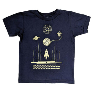 Astronaut Space Mouse Kids T-Shirt