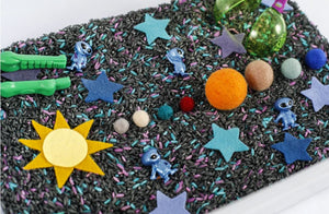 Solar System Sensory Bin Play Kit for Kids