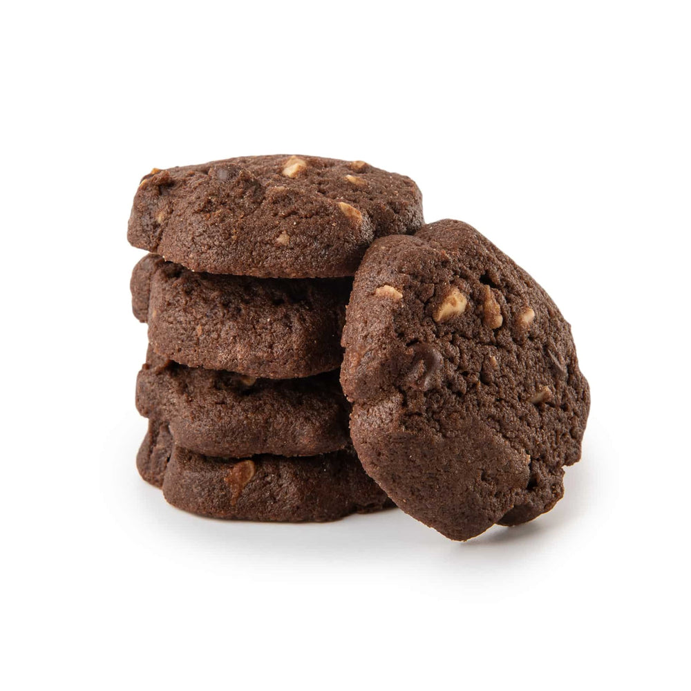 Chocolate Hazelnuts Cookies (16)